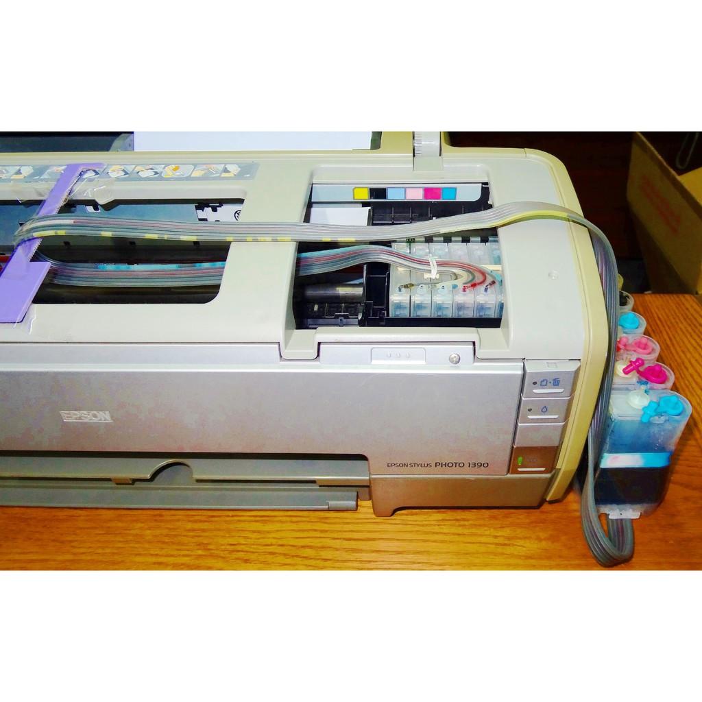 [小六工具] 二手 EPSON STYLUS PHOTO 1390 連續供墨系統(不含印表機)