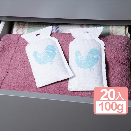 【想】《真心良品》重覆使用環保除濕袋100g-20入