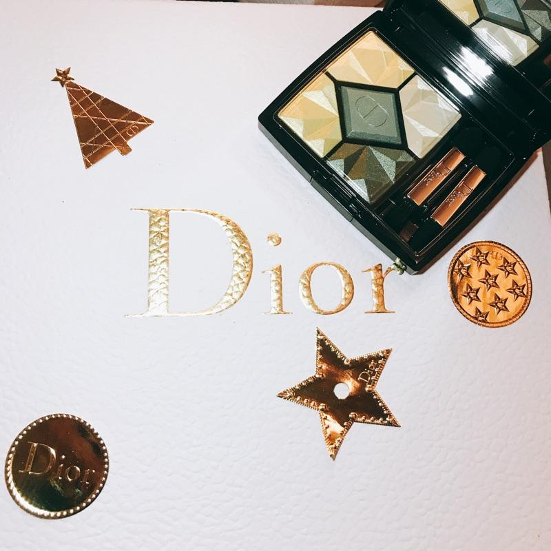 Dior聖誕限量眼影