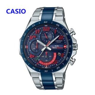 CASIO卡西歐手錶 EDIFICE 運動太陽能 男錶 三眼錶 賽車計時 跑秒 跑分 EQS-920系列 台北市
