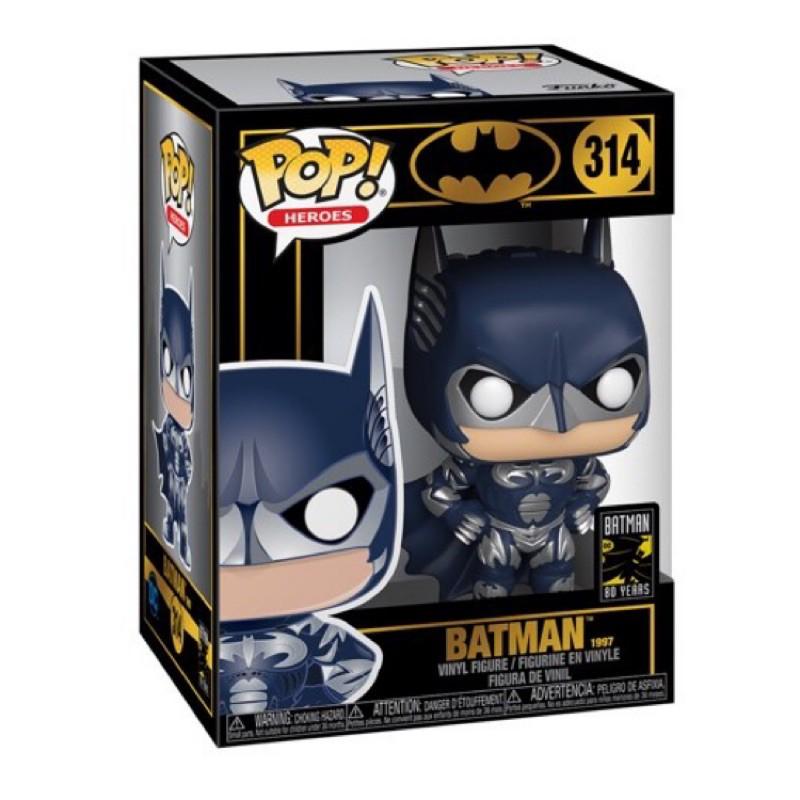 在台正版現貨(含外硬盒)FUNKO POP BATMAN 蝙蝠俠 80週年1997