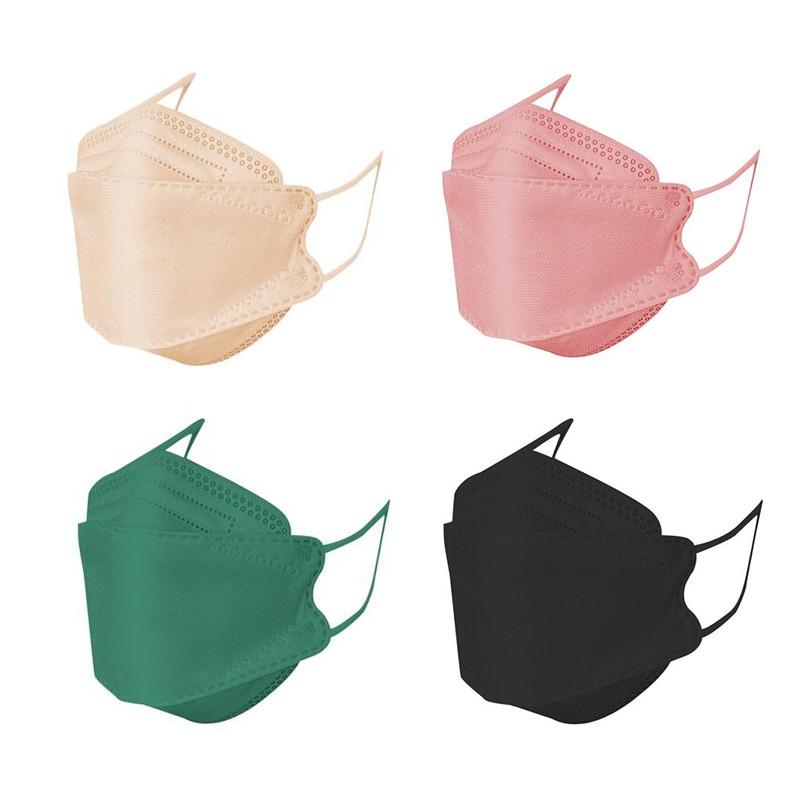 【神煥】 KF94立體醫療口罩10入-曜石黑色/莫蘭迪綠色/莫蘭迪玫瑰粉色/奶茶色