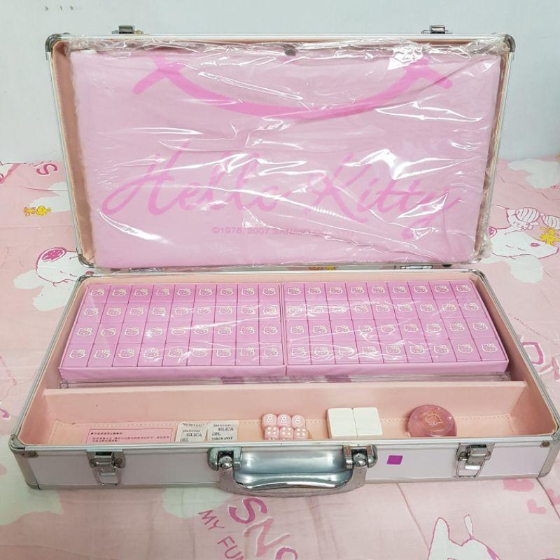 Hello Kitty正版鋁盒麻將組全新未拆封💯💯雷射標籤