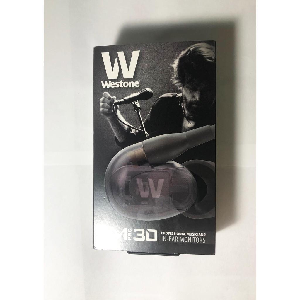Westone UM Pro 30 監聽 耳道式耳機 三單體 公司貨 AM PRO