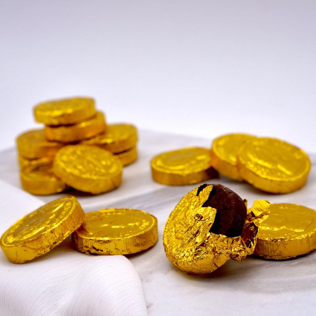 【嘴甜甜】金幣巧克力 200公克 巧克力系列 牛奶巧克力 純素