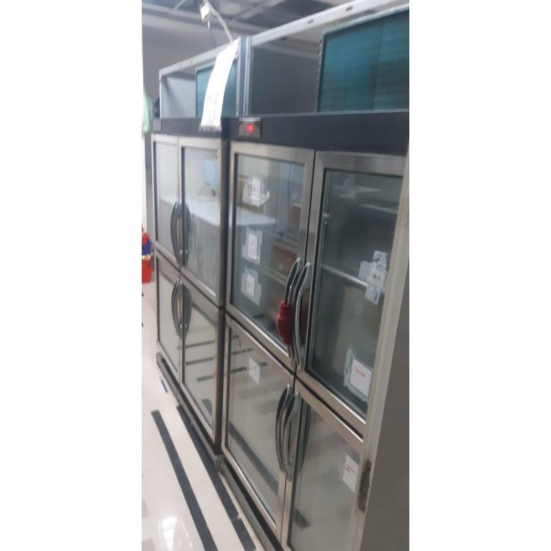 《二手》四門營業用透明冷凍冰箱