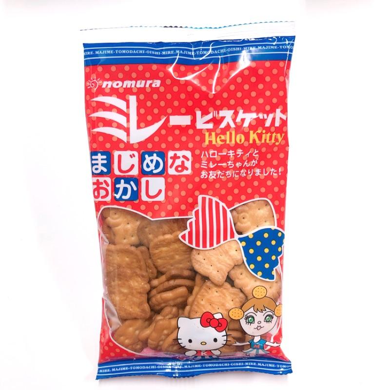 日本零食 野村煎豆 美樂圓餅 Kitty 小圓餅🍪 現貨