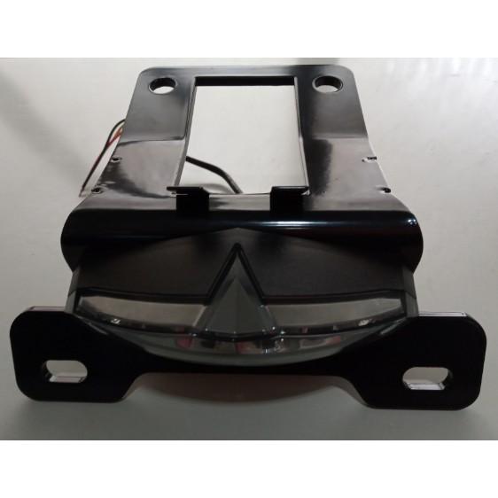 第二代 Honda CRF250L 短牌架_越野車_尾燈_可折方向燈