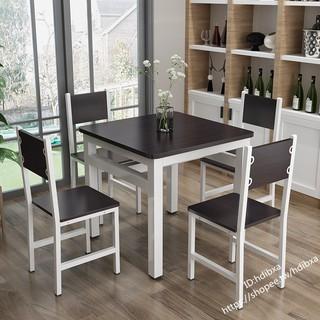 【完美傢私】家用餐桌椅組合四方桌吃飯桌四方桌小戶型飯