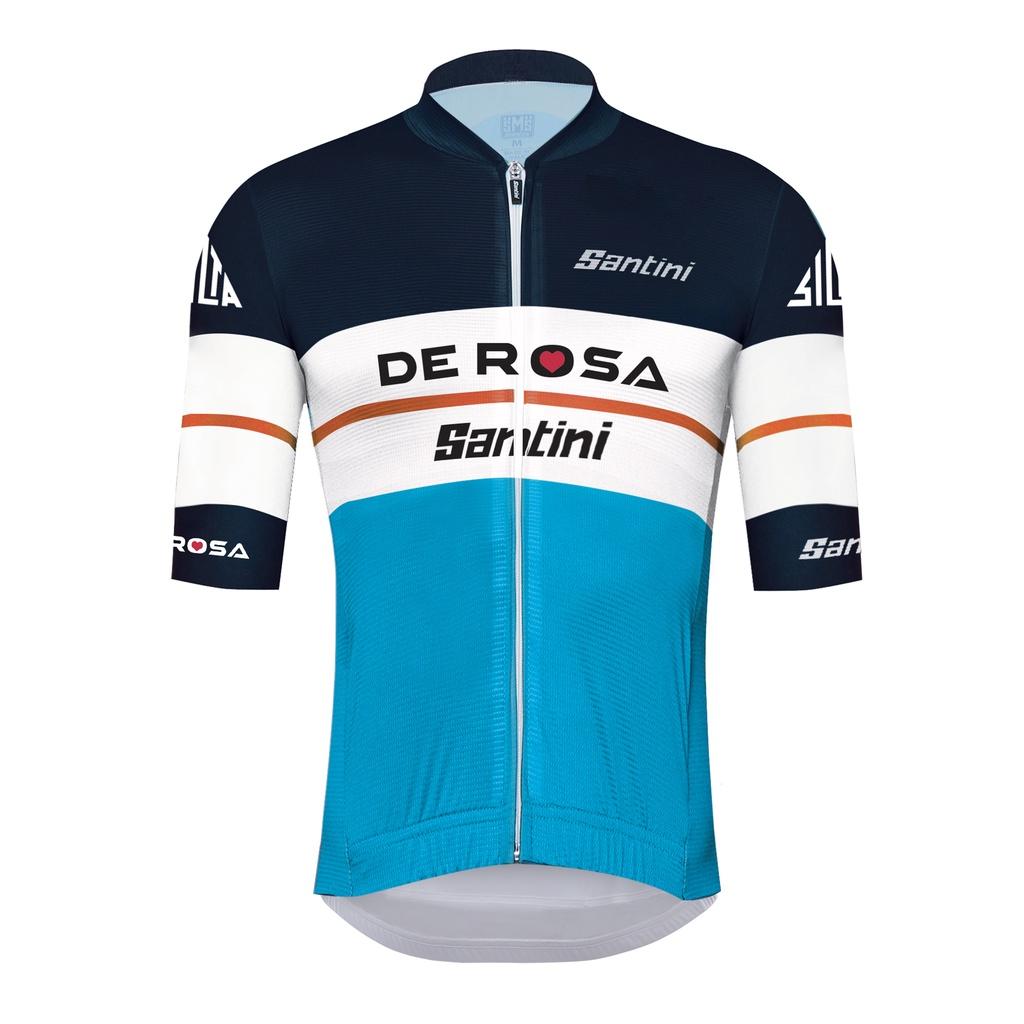 DE ROSA SANTINI 騎行服山地自行車公路自行車上衣