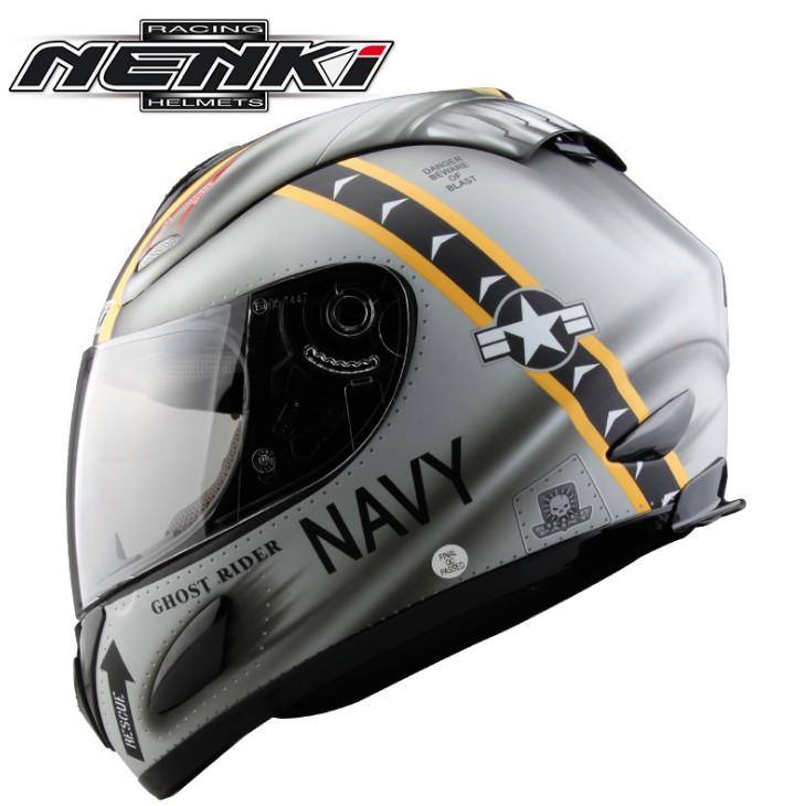 🔥全罩式安全帽  NENKI  國際DOT認證 透氣低風阻設計