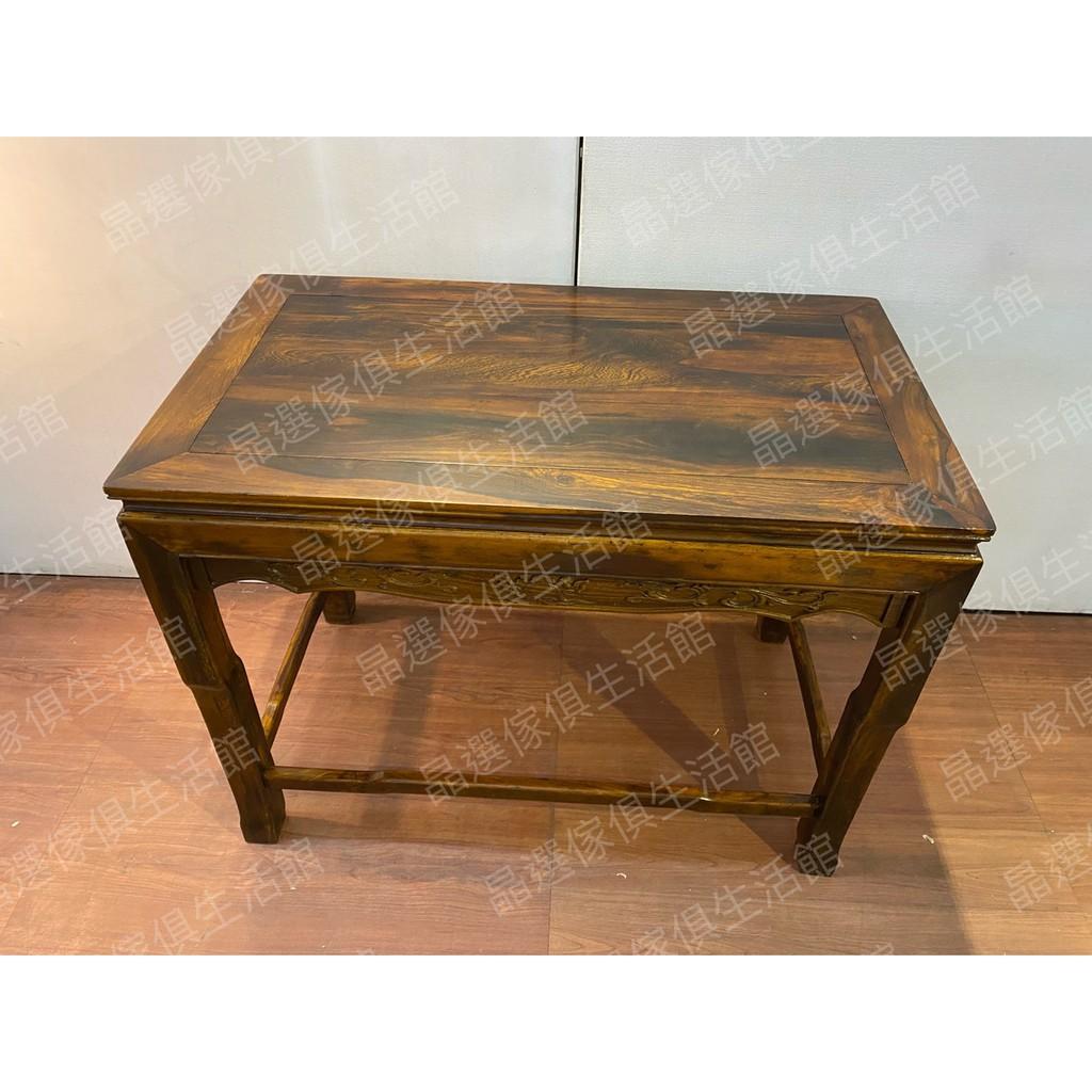 預購 全新雞翅木如意龍雕桌 神桌復古家具 上下座玄關桌 床邊櫃 角落桌 邊桌 花架 花台架 A3869【晶選二手傢俱】