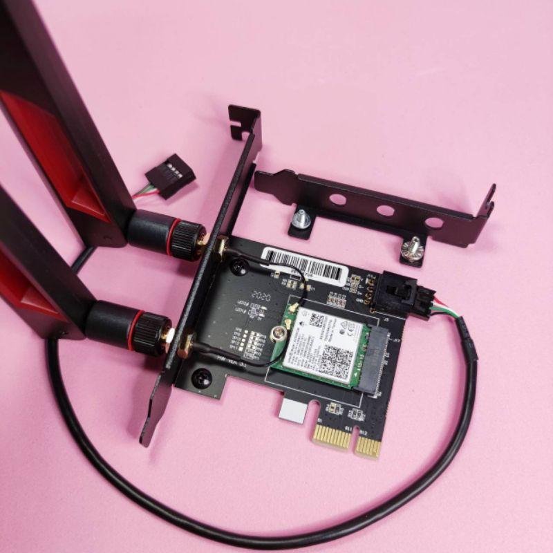 Intel Wi-Fi AX200 AX210桌上型無線網卡 WiFi-6 WiFi-6E