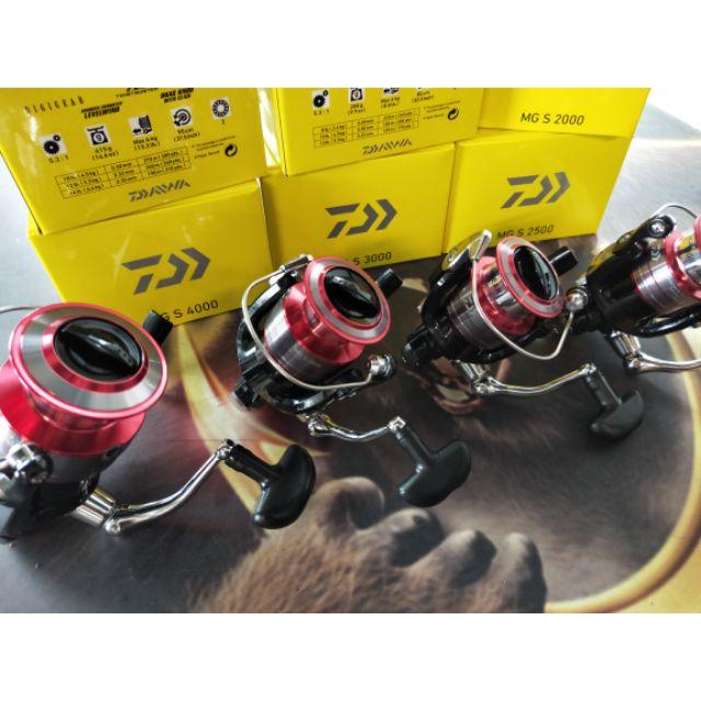 DAIWA 最新捲線器 超便宜!MG S2000~4000