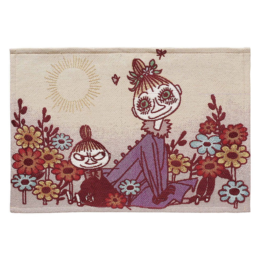 Marushin 丸真 編織餐墊 MOOMIN嚕嚕米 小不點&美寶 33×48cm