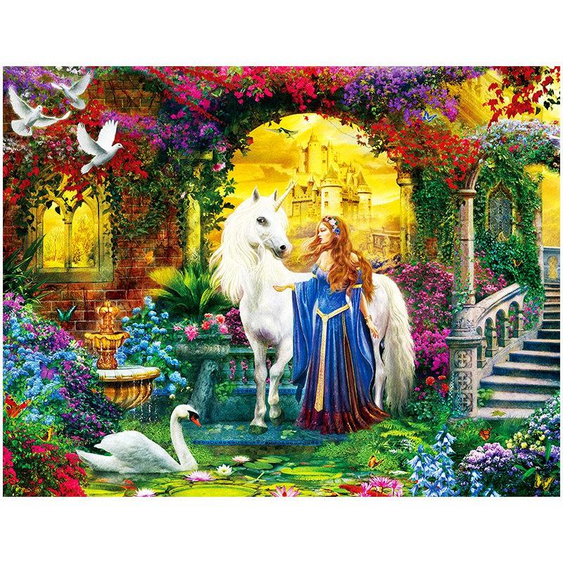 【現貨】成人拼圖1000片 祕密花園