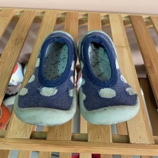 贈送 二手童鞋點點襪鞋12cm (有購買本賣場之商品即可贈) 屏東縣