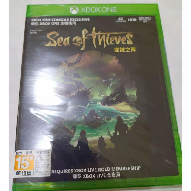 Xbox one 盜賊之海 全新未拆 光碟