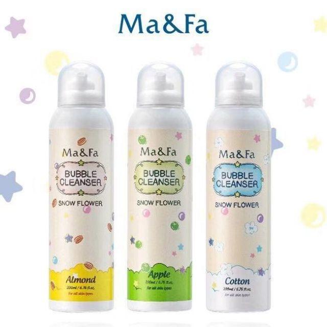 【Ma&Fa】韓國熱銷魔法沐浴泡(可以玩的慕斯)