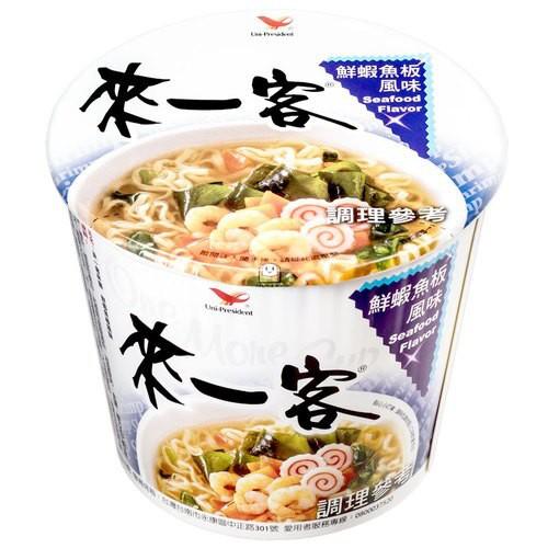 來一客 鮮蝦魚板風味 63g 【康鄰超市】