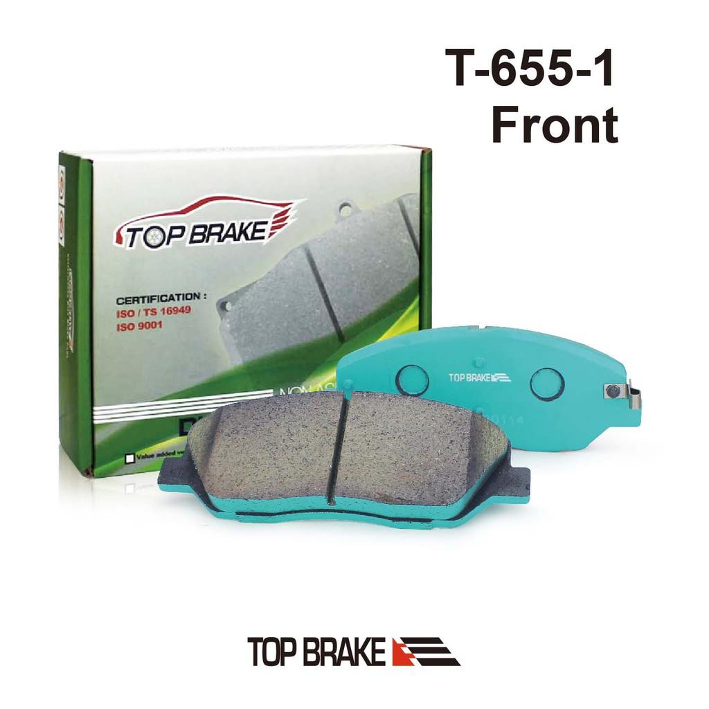 TOPBRAKE 現代 Santa Fe Tucson KIA Soul 汽車前碟煞車來令片-特約店免安裝費T655-1