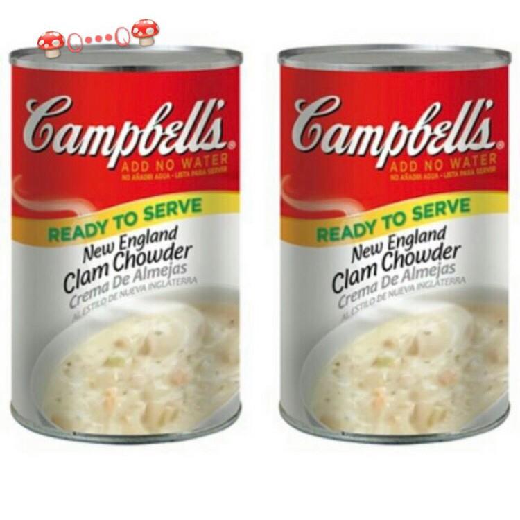 Campbell's 金寶 新英倫蛤蜊濃湯 好市多