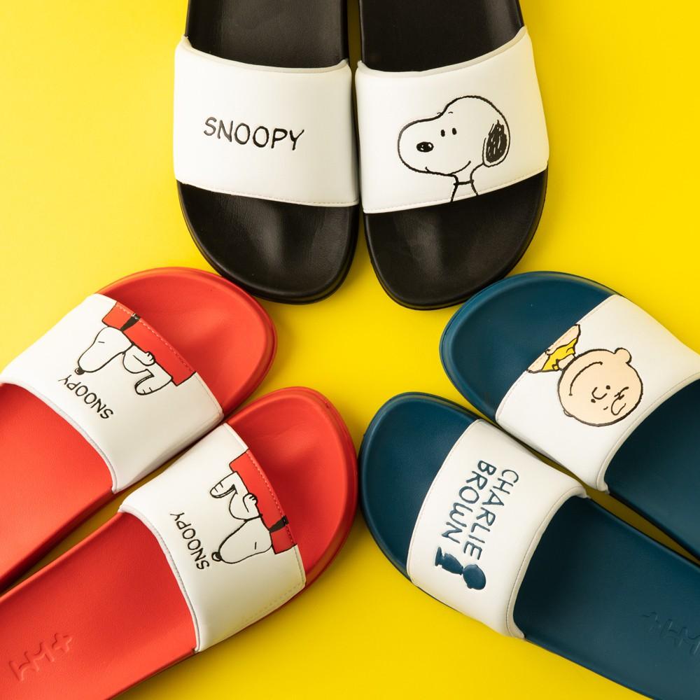 MI韓國代購|正版授權 10X10 史努比 室內 室外拖鞋