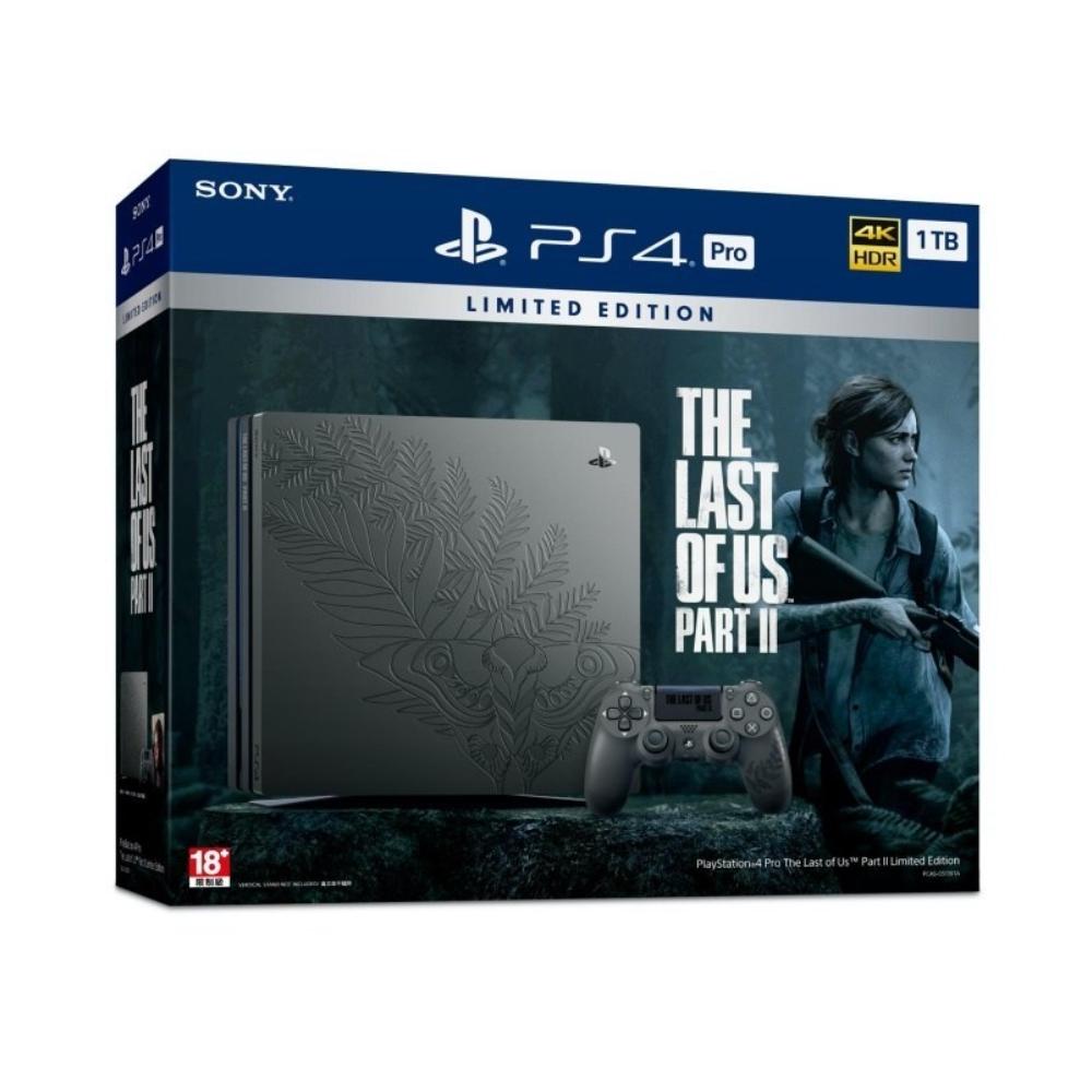 PS4 Pro 1TB最後生還者二部曲同捆機(主機+控制器)不含遊戲【現貨免運】【GAME休閒館】
