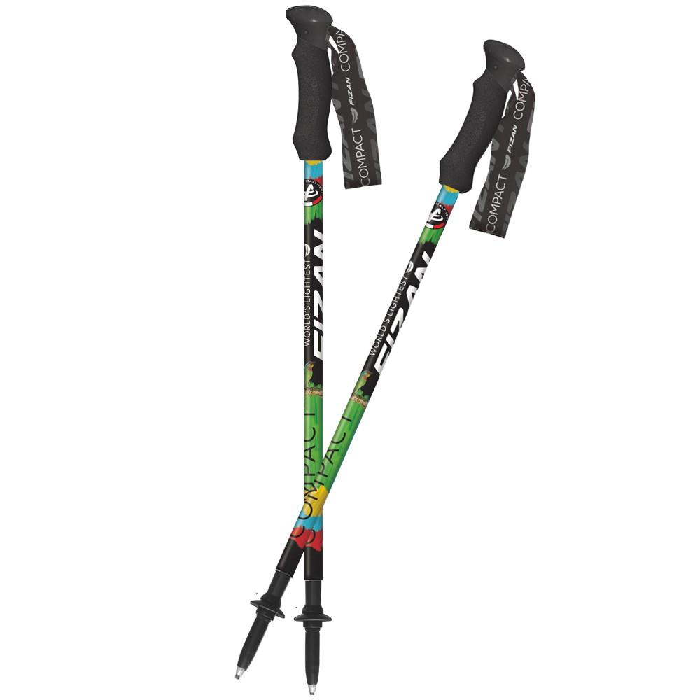 義大利FIZAN 超輕三節式登山杖 五色鳥 2入組 FZS20.7102.FTB