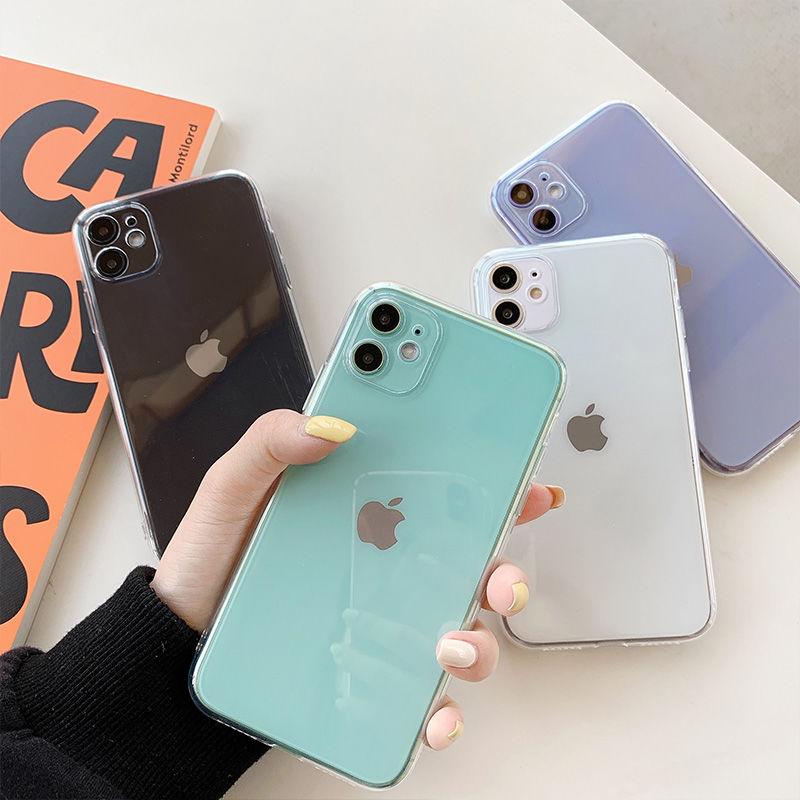 透明蘋果se手機殼iPhone6s/7/8plus軟12/x/xs/xr/xsmax/11pro全包
