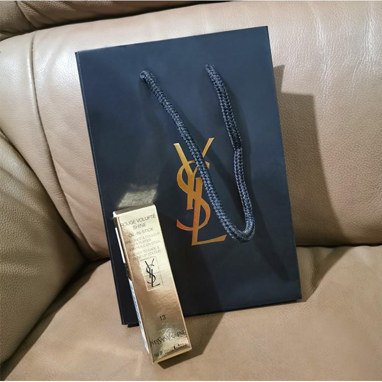 (現貨) 全新YSL 專櫃紙袋 紙盒 送禮 包裝  口紅盒 禮盒 小紙袋 唇膏紙盒