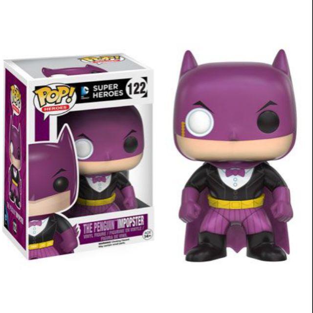 柴寶趣 預約 FUNKO POP 122 企鵝先生 impopster BATMAN 蝙蝠俠 DC 英雄 澳洲空運 正版