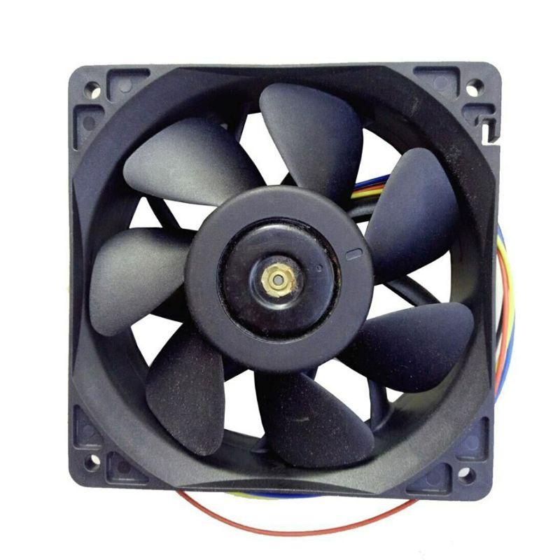 通用7500RPM冷卻風扇冷卻器替換用4針連接器,用於Antminer Bitmain