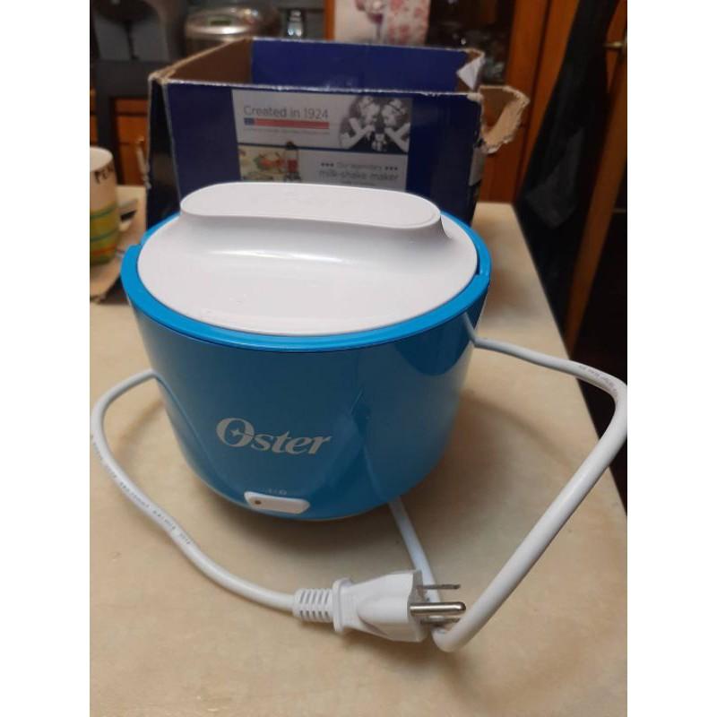 二手 近全新 美國 藍色 OSTER SCSTPLC240 隨行電子保溫飯盒 不鏽鋼內鍋 可保溫也可加熱冷凍食品或調理包
