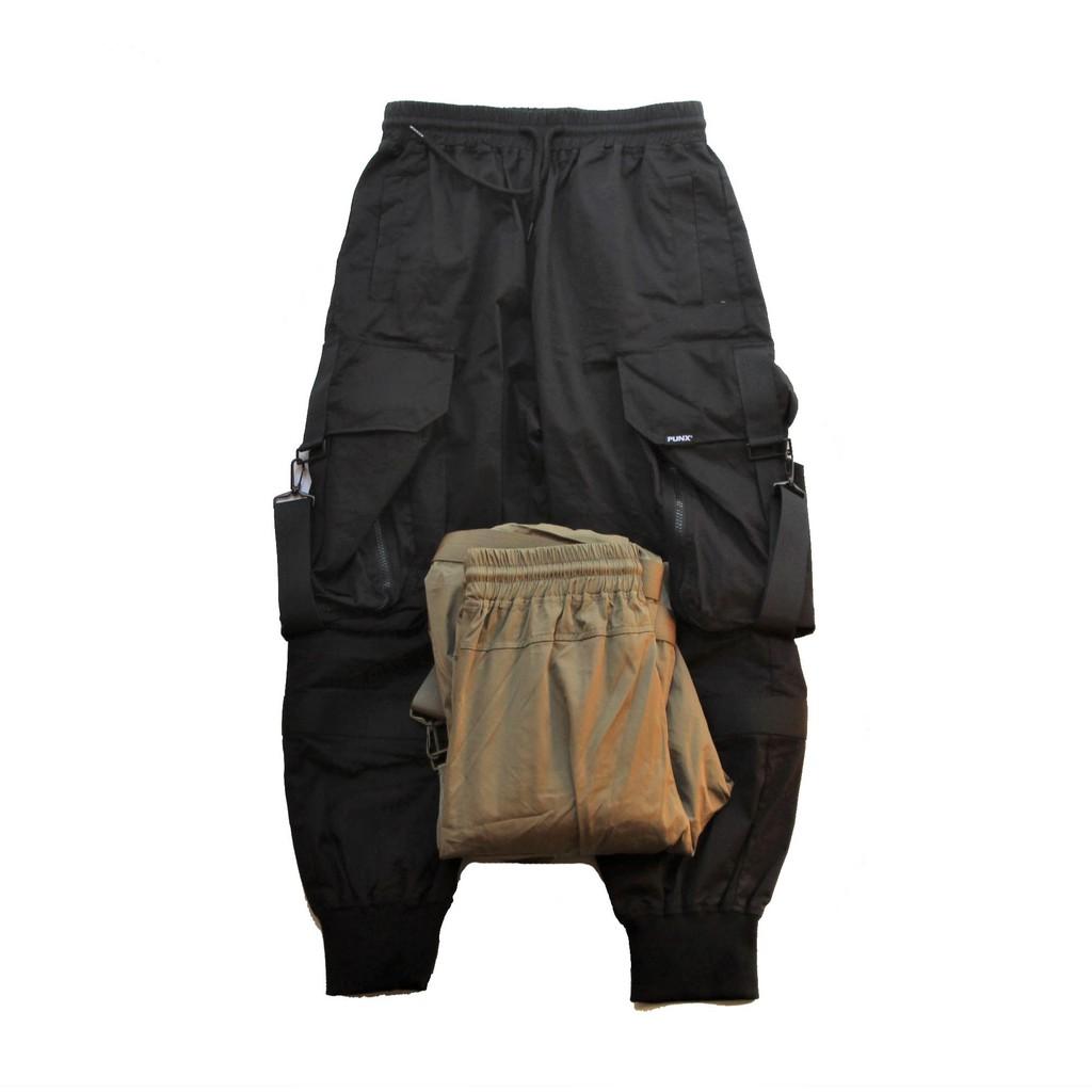 PUNX 19AW SPLICE JOGGING PANTS 工裝褲束口褲/縮口褲