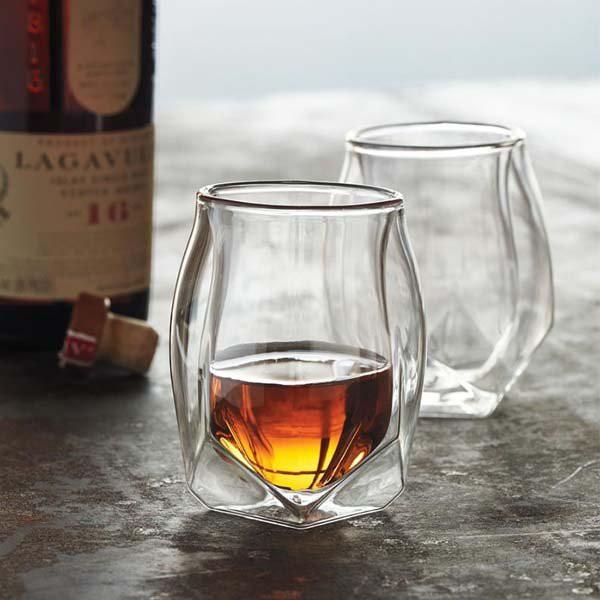 Glen Norlan諾蘭杯威士忌杯/雙層酒杯ins威士忌大人網紅杯