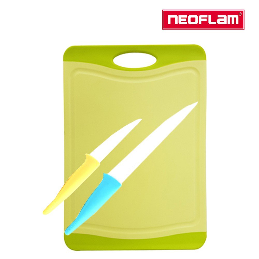 NEOFLAM 輕鬆料理刀具3件組