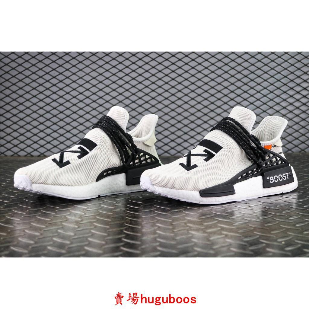 brand new b9f30 7a77c Adidas x Off-white x NMD Human Race Trail OW 菲董聯名 男女鞋 情侶款
