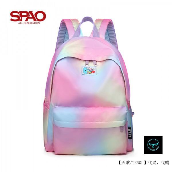 【天歌】全場免運 韓國代購 SPAO書包 雙肩包  電腦包 休閒 大容量 後背包