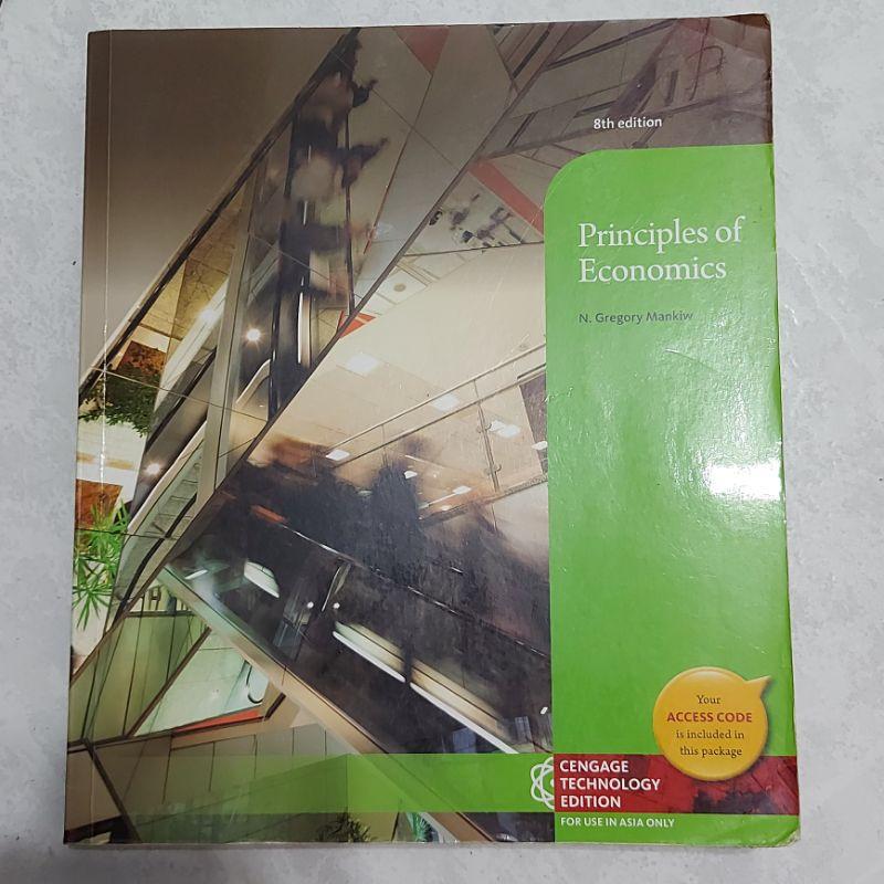 Principles of Economics(經濟原文書8版)