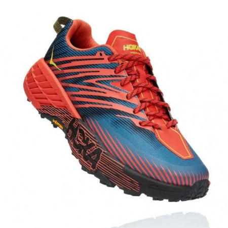 Hoka | Speedgoat 4 for Men (Fiesta /Provincial Blue) 越野跑鞋 運動