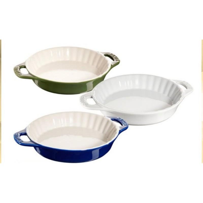 藝享美食家現貨限量Staub陶瓷波浪雙把烤盤(1.2L)-公司貨