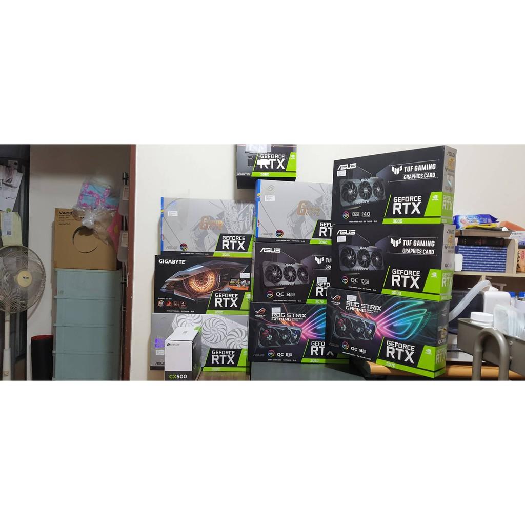4/19更新 GEFORCE RTX3090 華碩 ROG 技嘉 gaming OC ASUS 3080 3070