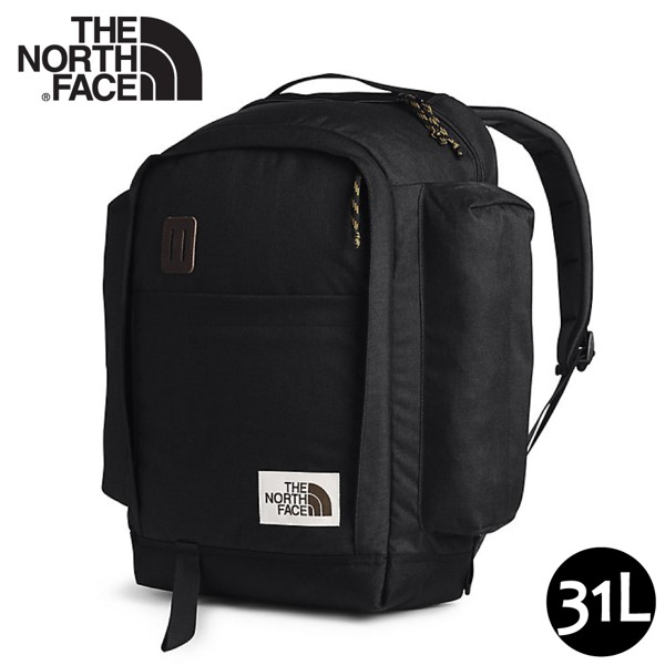 【The North Face 31L 15吋電腦背包《黑》】3KY2/多功能休閒背包/電腦背包/學生書包
