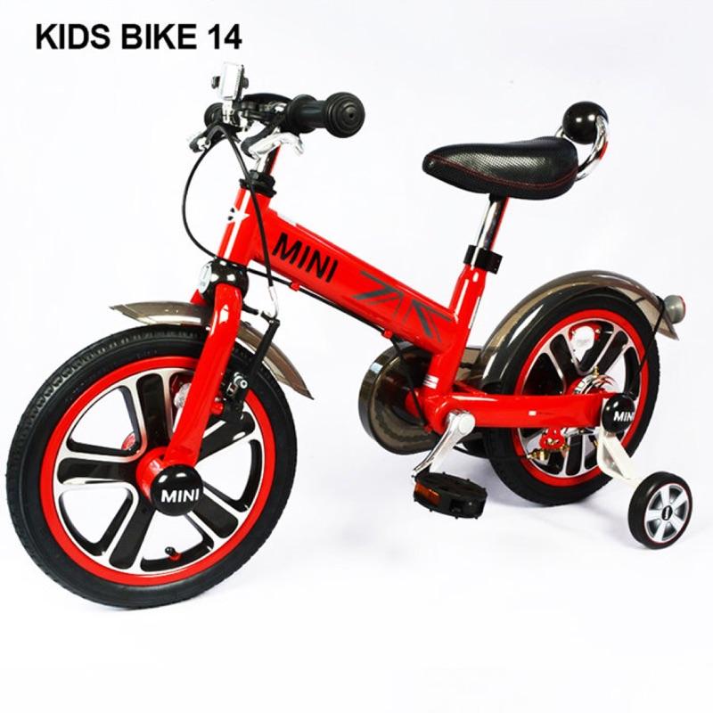 英國Mini Cooper 兒童腳踏車14吋-辣椒紅