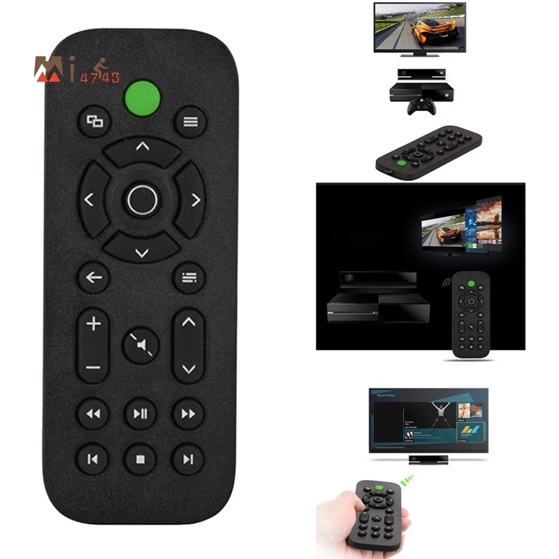 Xbox One Dvd 娛樂多媒體控制器的媒體遙控器 Xbox One 遊戲機