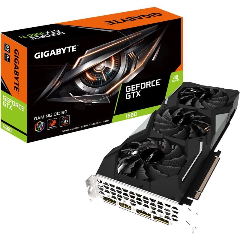 ﹉㍿▩技嘉 GTX1660 SUPER /RTX2060 GAMING OC 6G  超級雕游戲顯卡 CC