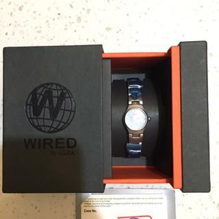 不用到萬元 ALBA WIRED系列 全新 GAL07 奢華立體切割玻璃女錶 生活防水錶 情侶錶 男生手錶 女生手錶 水 台中市