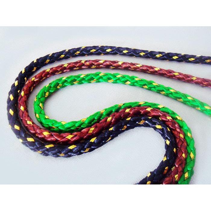 【綺綺愛編織】麗斯牌 9mm 金蔥尼龍繩 束口袋繩 繩粗0.9cm 後背包繩