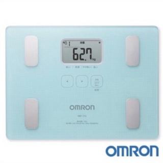 【OMRON 歐姆龍】體重體脂計 HBF-216 (藍色) 新北市